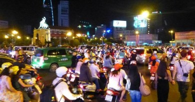 saigon vietnam traffic
