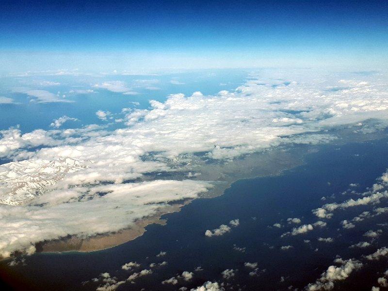 crete island view
