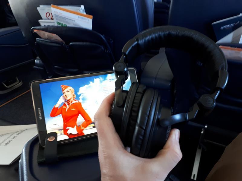headphones aeroflot