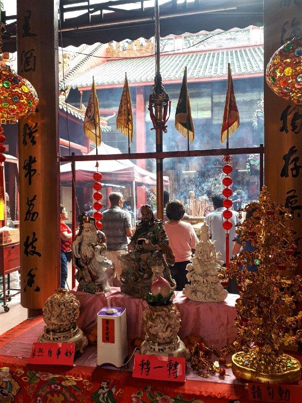 guan di chinese temple taoist