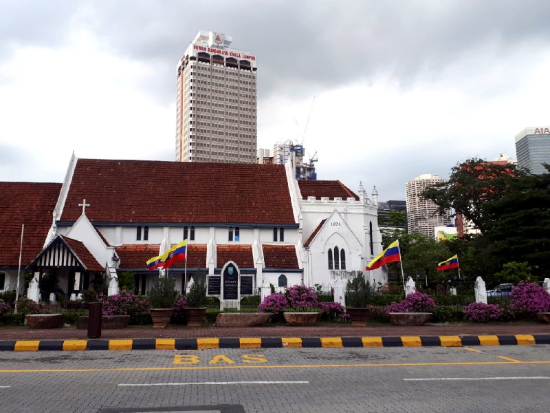 st mary's cathedral church kl