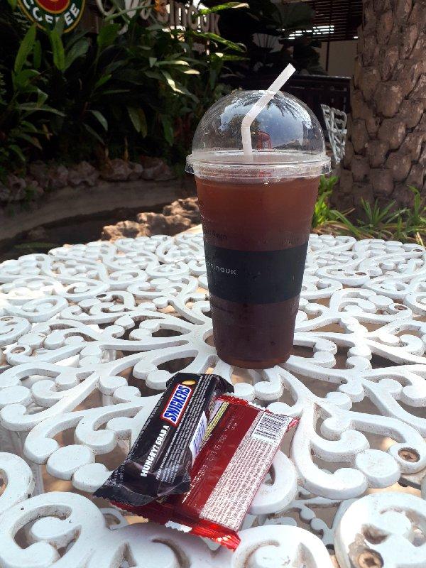 iced coffee laos