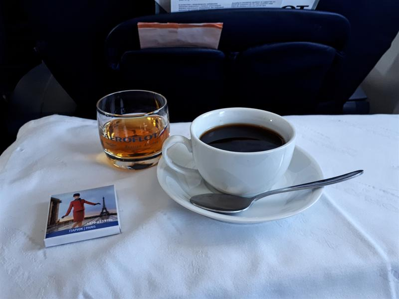 coffee cognac aeroflot