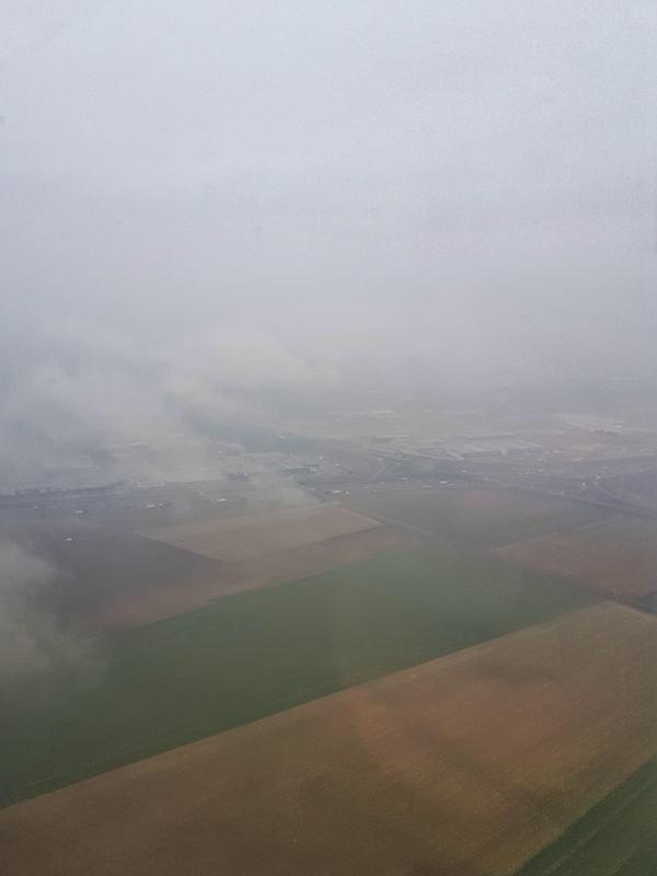 paris landing aeroflot moscow review