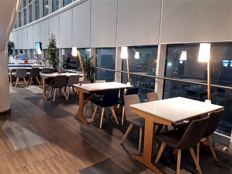 tarom business class lounge review otp otopeni