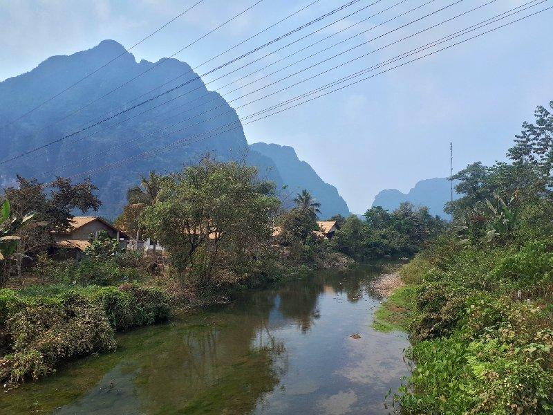 scenery vang vieng blue lagoon 2