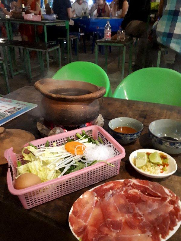 hot pot vang vieng laos