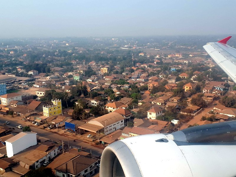 vientiane approach landing
