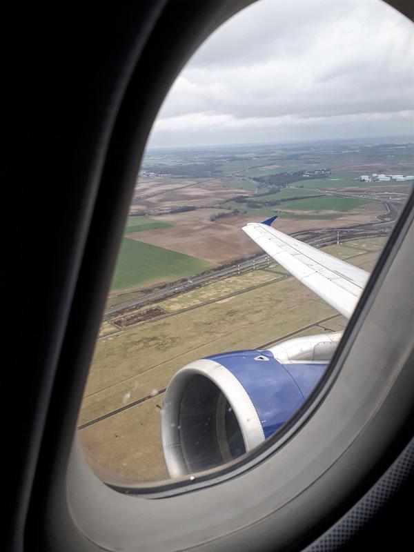 cdg departure view