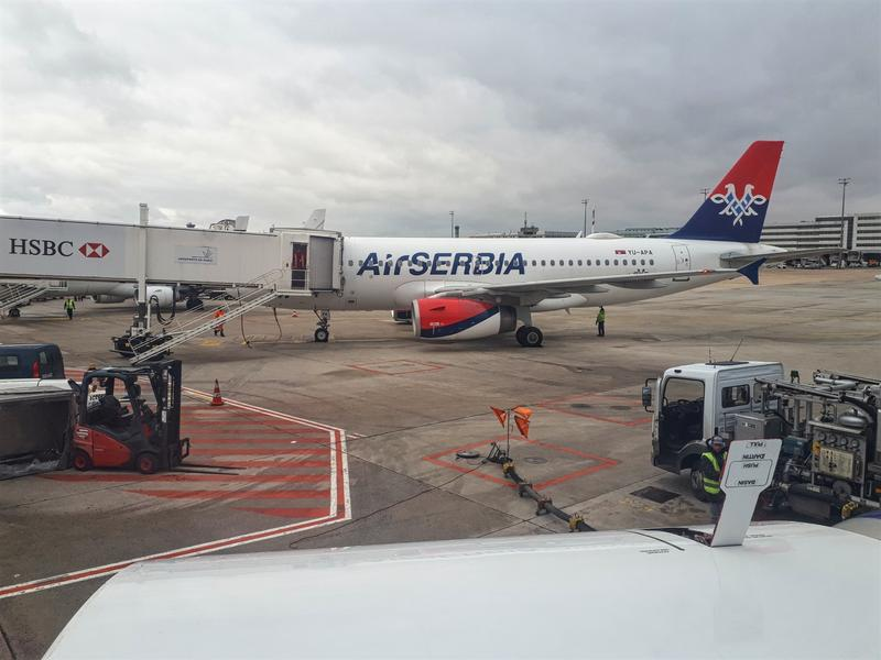 air serbia cdg airbus a319