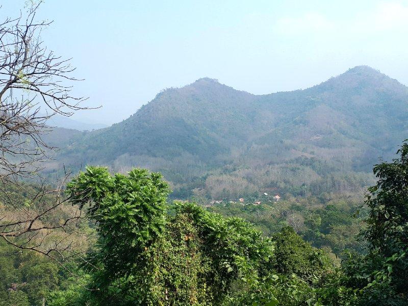 kuang si jungle view