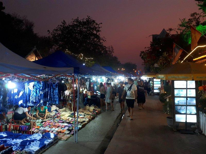 luang prabang trip report night market