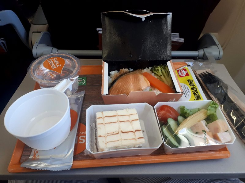 thai smile meal food review