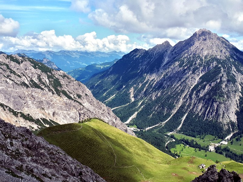 alps mountains liechtenstein austria