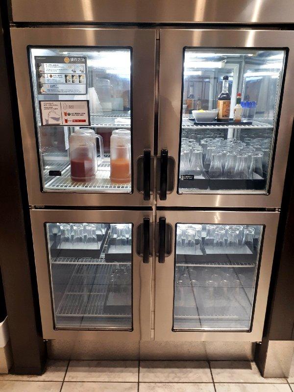 lounge fridge