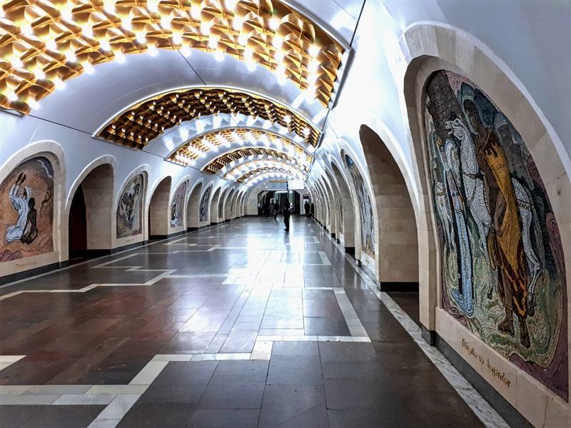 baku metro trip report