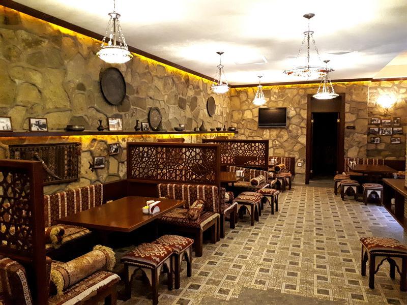 atrium cafe shah palace hotel