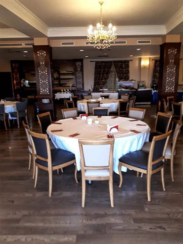 shah palace hotel breakfast room
