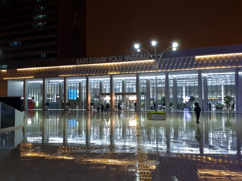 baku railway station