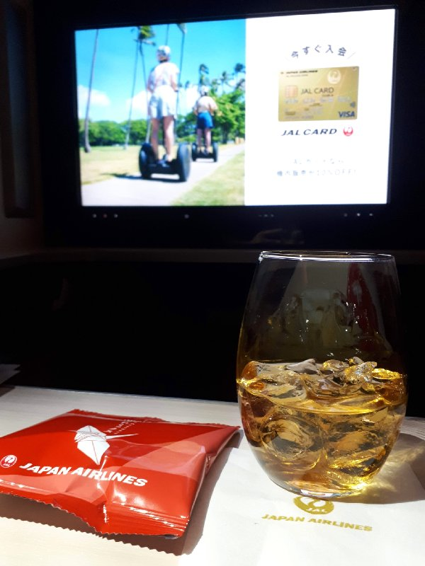 jal japan airlines business class plum wine boeing 787 review