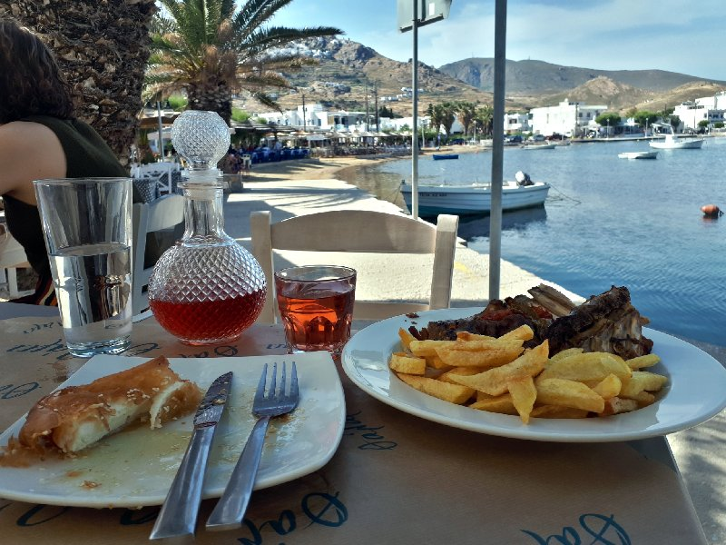 livadi serifos tavern food