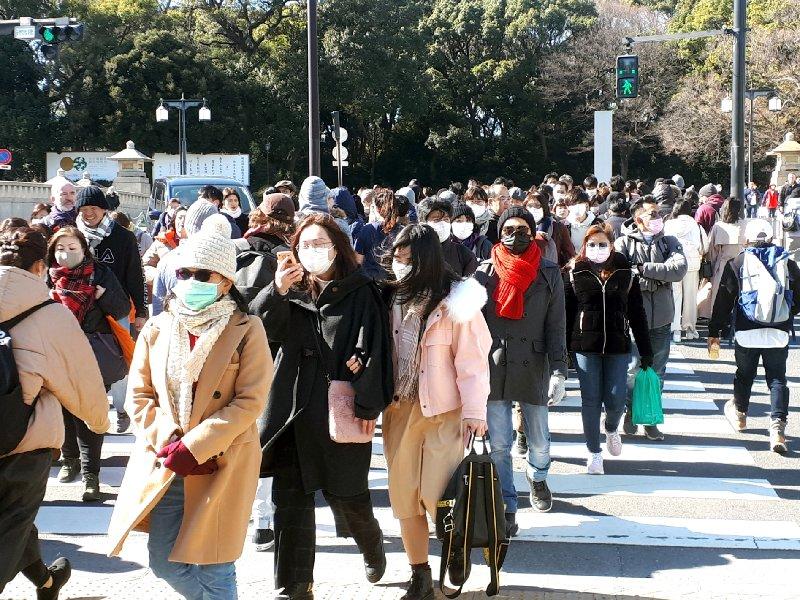 tokyo crowd japan