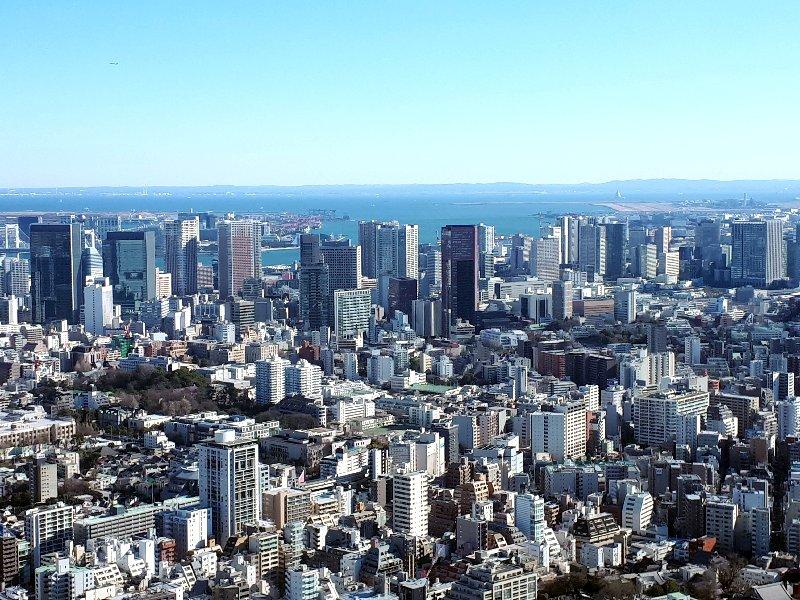 mori tower view haneda airport