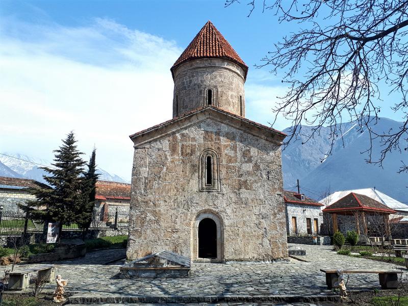 sheki kiş albanian church trip report azerbaijan