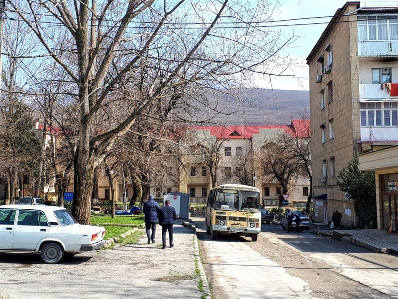 sheki street