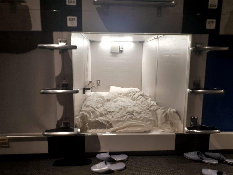 capsule hotel transit shinjuku tokyo review