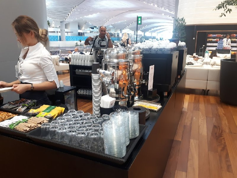 coffee bar turkish airlines lounge