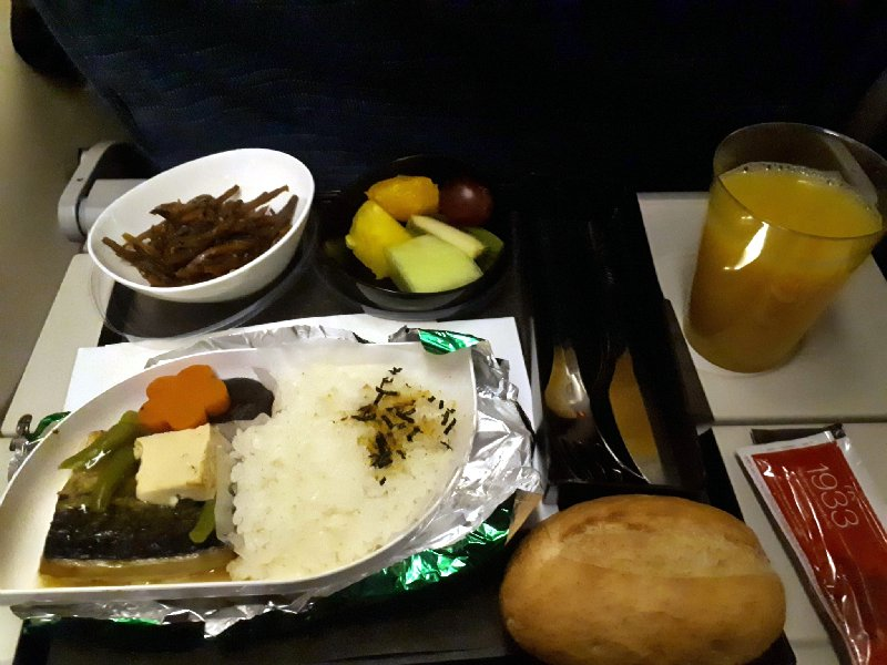 grilled mackerel turkish airlines breakfast meal food economy