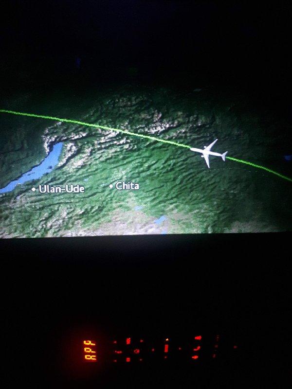 siberia flight map