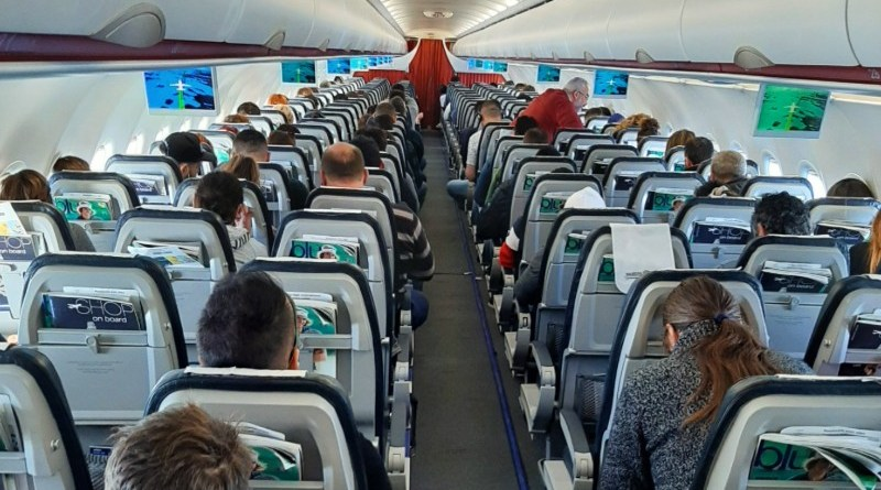 cabin aegean airlines a320-200 economy class review