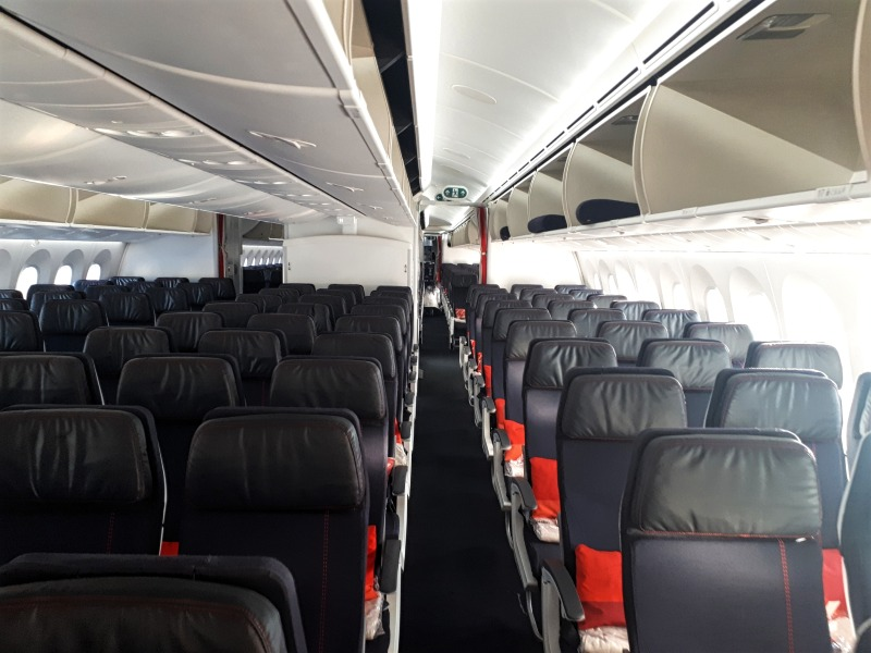 economy class review air france boeing 787