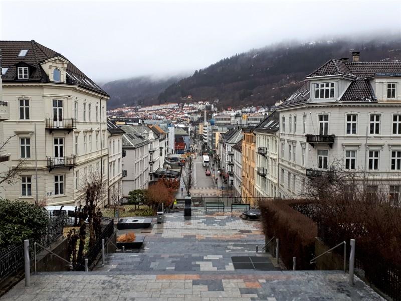 johanneskirken bergen city centre view trip report