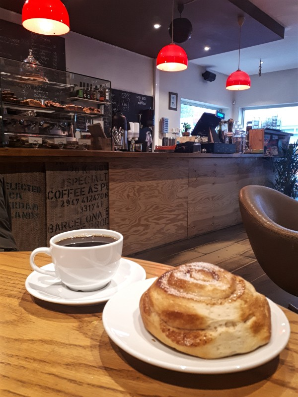 coffee pastry bergen norway
