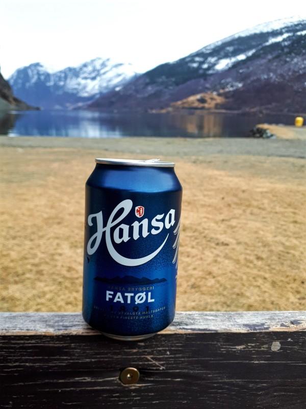 beer fjord norway