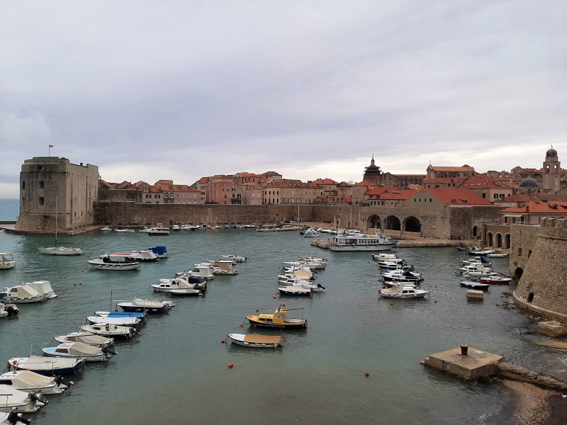 fishing harbour port dubrovnik