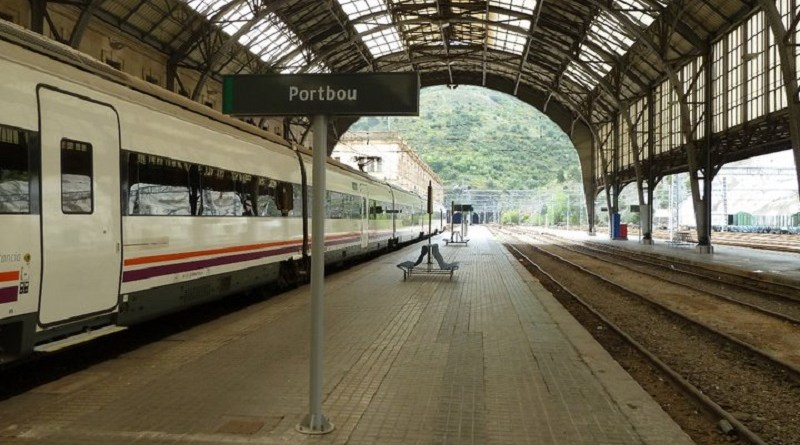 portbou station world cheapest train