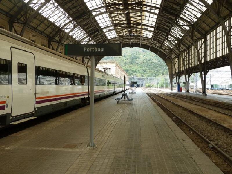portbou station world cheapest train
