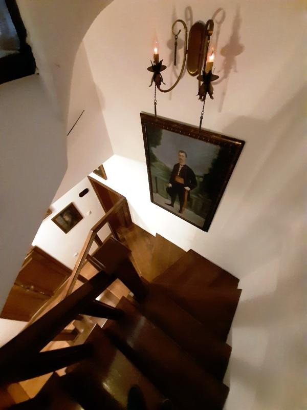 palazzo drusko stairs