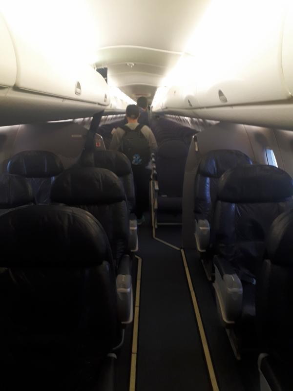 embraer boarding
