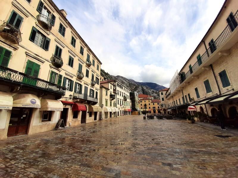 kotor montenegro main square