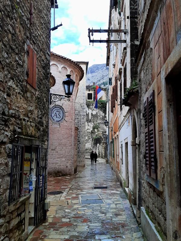 kotor old town stari grad