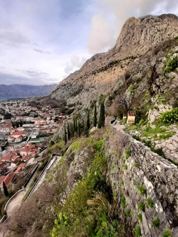 kotor climb view
