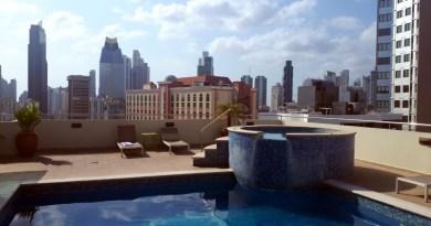 rooftop pool tryp wyndham panama