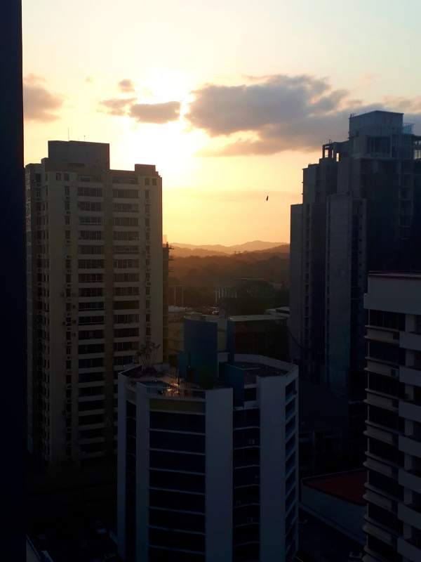 panama sunset
