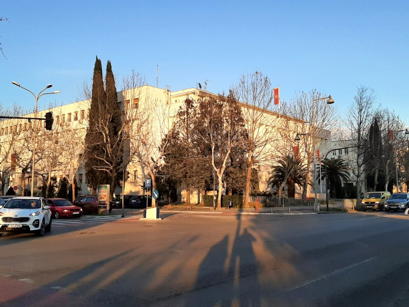 presidential office montenegro