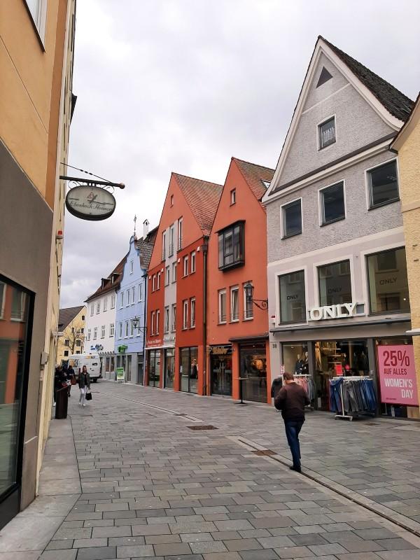 memmingen old town